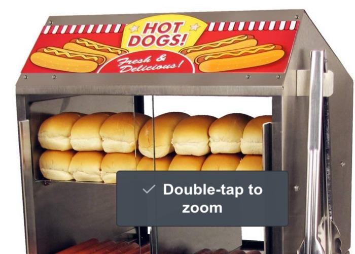 Commercial Hot Dog Steamer - 1