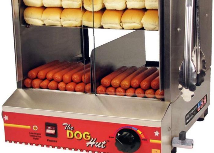 Commercial Hot Dog Steamer - 2