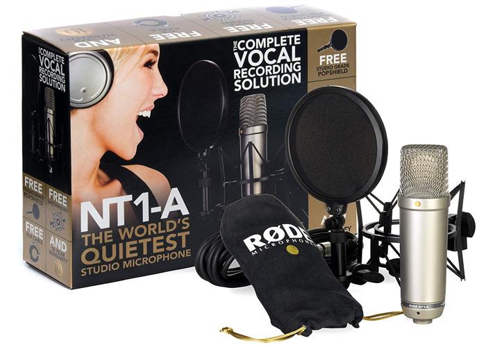 Complete Podcast Set - 3 x RØDE NT1-A + ZEDi 10fX - 1