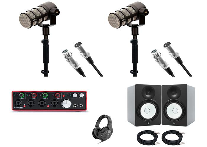 Complete Studio Recording Package - Mics, Headphones, Etc - 1