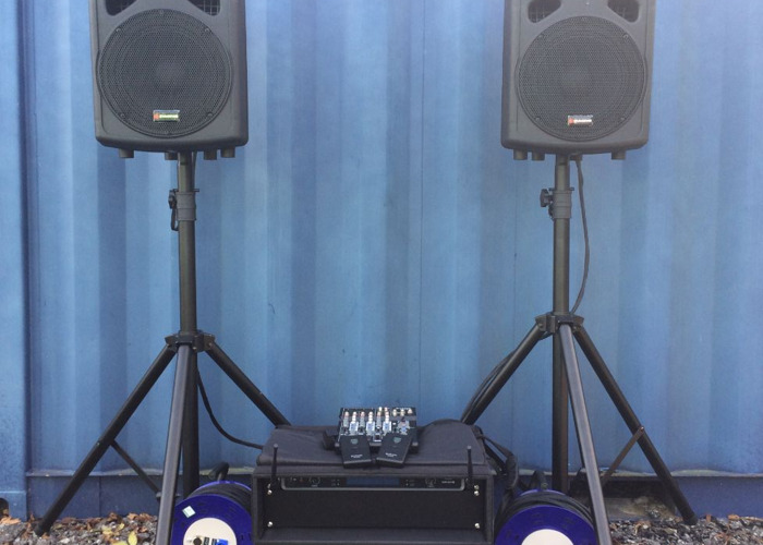 Conference/presentation complete PA System - 1