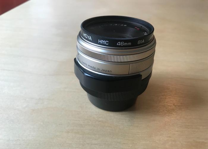 Contax G 28mm Lens - 2