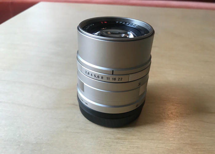 Contax G 90mm Lens - 2