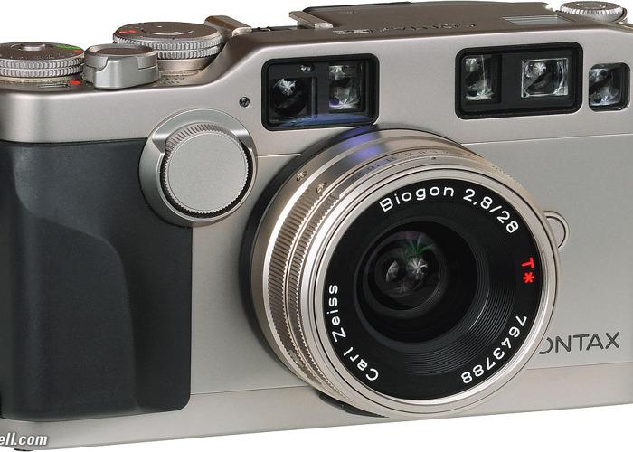 Contax G1 35mm film camera kit  - 1
