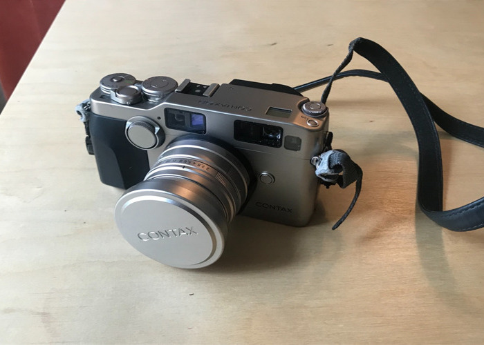 Contax G2 Full Kit, 28mm, 45mm, 90mm lenses with Hard Case - 2