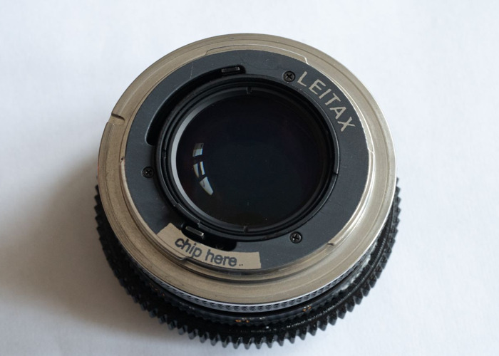 Contax Zeiss 50mm Planar 1.4 with Leitax Canon EF mount - 2