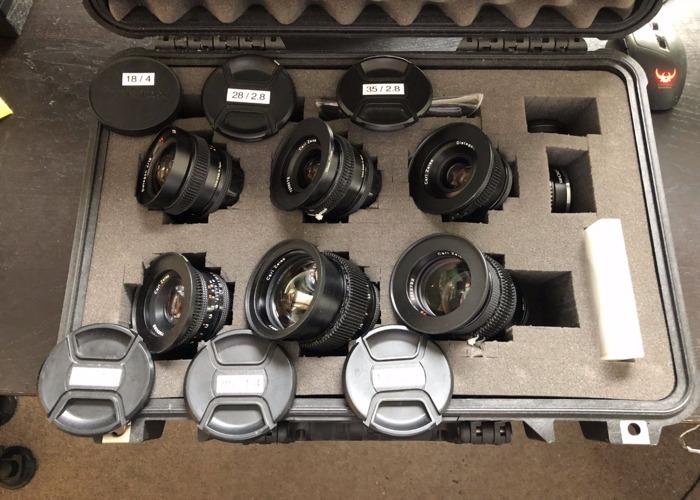 Contax (Zeiss) Lens Kit - 1