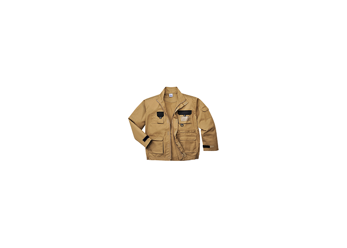 Contrast Jacket  Ep Kha  Small  R - 1