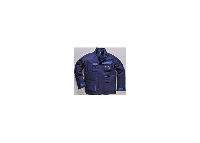 Contrast Jacket  Navy  Large  R - 1