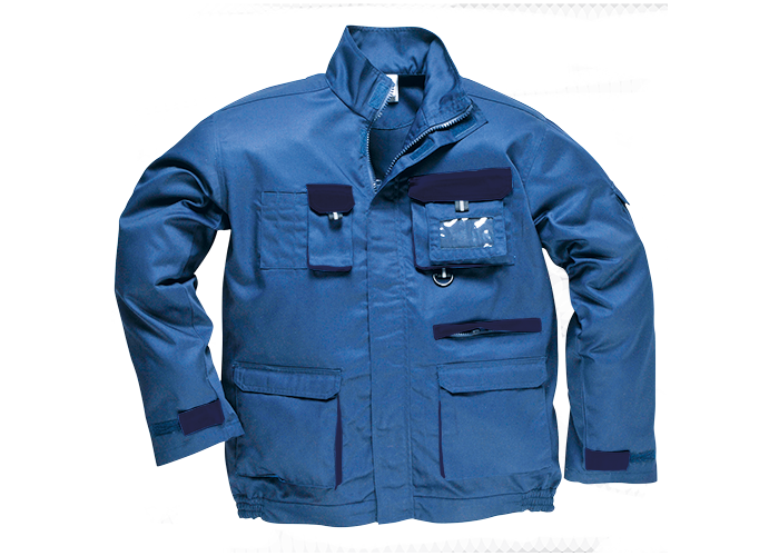Contrast Jacket  Royal  Small  R - 1