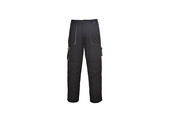 Contrast Trousers  Black  XXL  R - 1