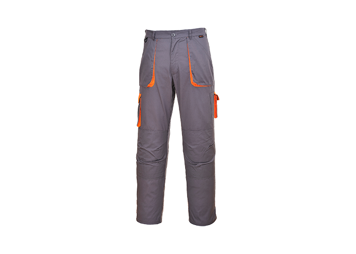 Contrast Trousers  Grey  Large  R - 1