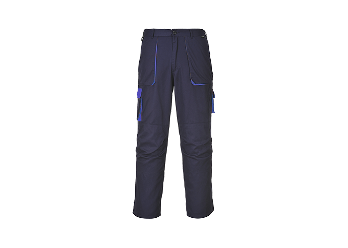 Contrast Trousers  Navy  3 XL  R - 1