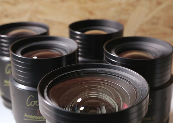 COOKE ANAMORPHIC - 4 Lens Set - 2