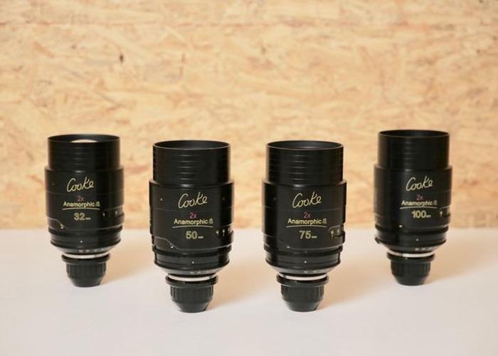 COOKE ANAMORPHIC - 4 Lens Set - 1