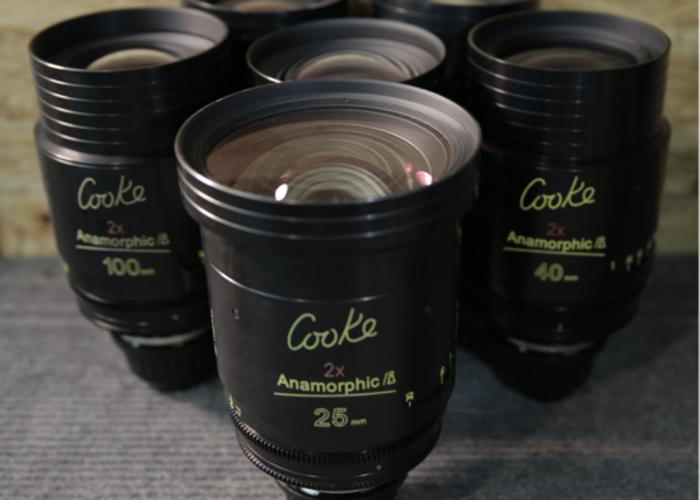 COOKE ANAMORPHIC | 6 Lens Set | Full Package - 1
