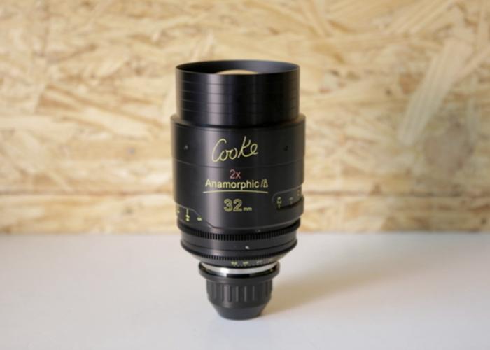 COOKE ANAMORPHIC | 6 Lens Set | Full Package - 2