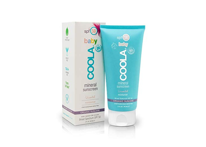 Coola Mineral Baby Organic SPF50 Unscented 3oz - 1