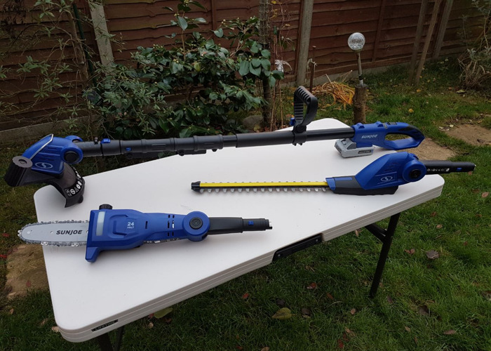 Cordless Multi Garden Tool / strimmer/chainsaw/hedge trimmer - 1