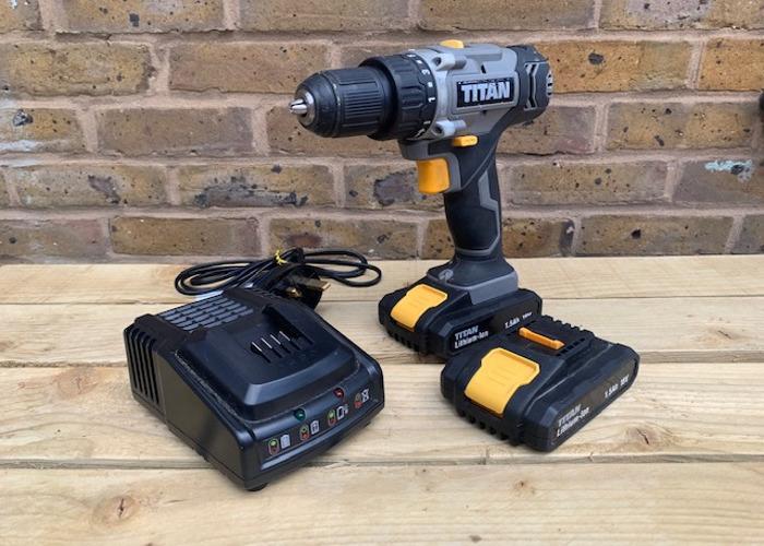 Cordless Power Drill/Drill Driver & Drill Bit Set - 1