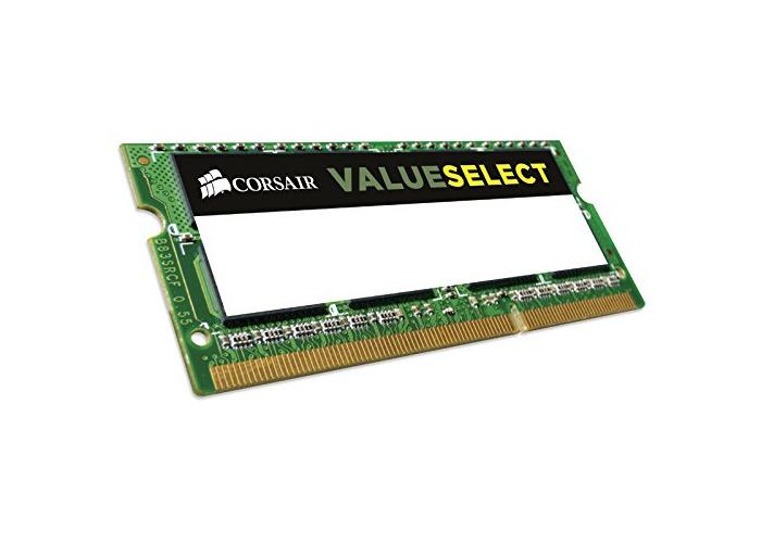 Corsair CMSO8GX3M1C1600C11 Value Select 8GB (1x8GB) DDR3 1600Mhz CL11 Mainstream SODIMM Notebook Memory Module Green - 2