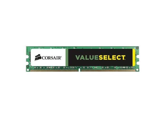 Corsair CMV4GX3M1A1600C11 Value Select 4GB (1x4GB) DDR3 1600 Mhz CL11 Mainstream Desktop Memory Module - 1