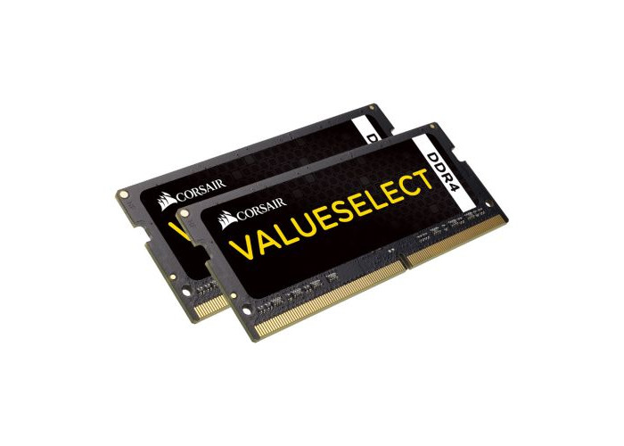 Corsair Value Select 8GB Kit (2 x 4GB), DDR4, 2133MHz (PC4-17000), CL15, SODIMM Memory - 1