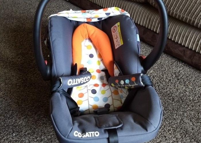 Cosatto car seat 0+ - 1