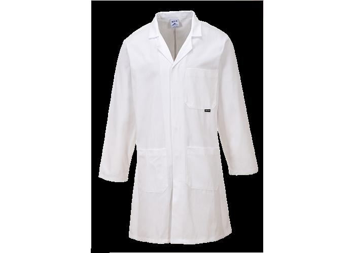 Cotton Coat  White  Large  R - 1