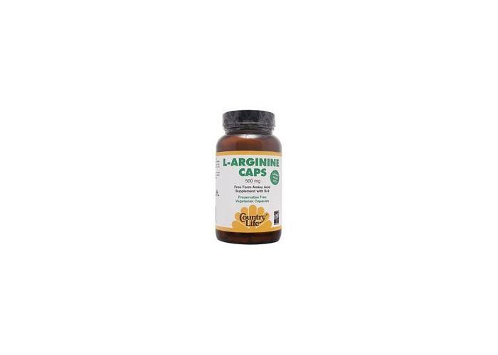 Country Life - L-Arginine Caps, 500 Mg, 100 Capsules - 2
