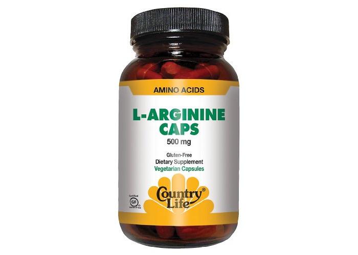 Country Life - L-Arginine Caps, 500 Mg, 100 Capsules - 1