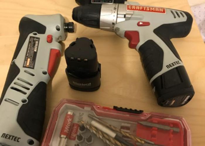 Craftman drill set - 1