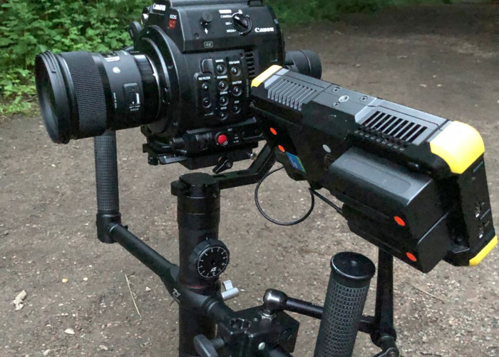 Crane 2 - With Focus, handle bars and extension plate for C200, 1DX etc... Handheld Gimbal  - 1