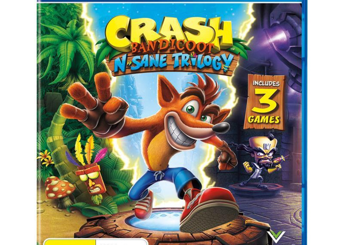 Crash Bandicoot N Sane Trilogy PS4 - 1