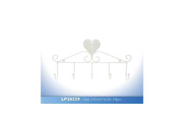 Cream Heart Hanger - 1