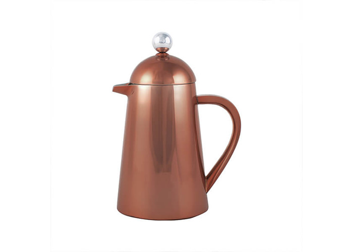Creative Tops Copper La Cafetiere Origins Thermal Double Walled Coffee Maker - 1