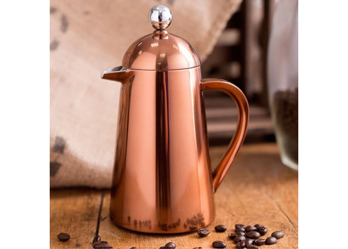 Creative Tops Copper La Cafetiere Origins Thermal Double Walled Coffee Maker - 2