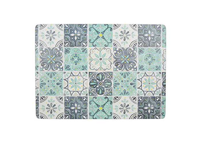 Creative Tops Green Tile Pack Of 4 Large Placemats - 1