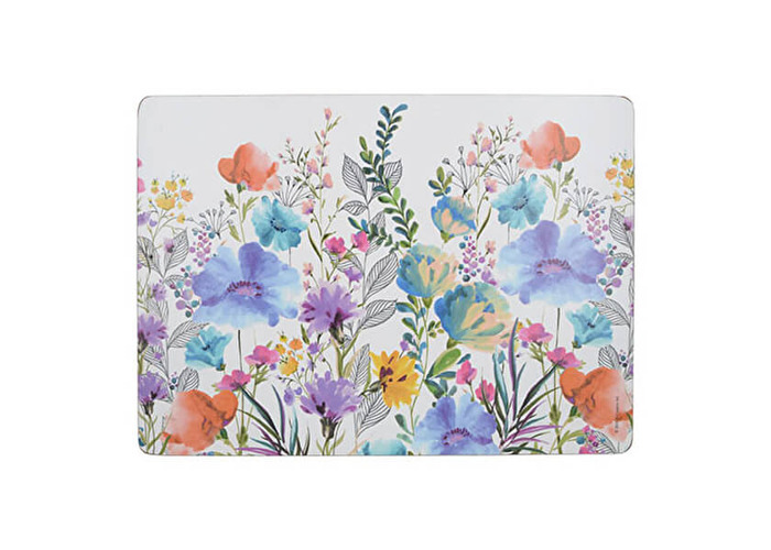 Creative Tops Meadow Floral Pack Of 4 Large Placemats - 1