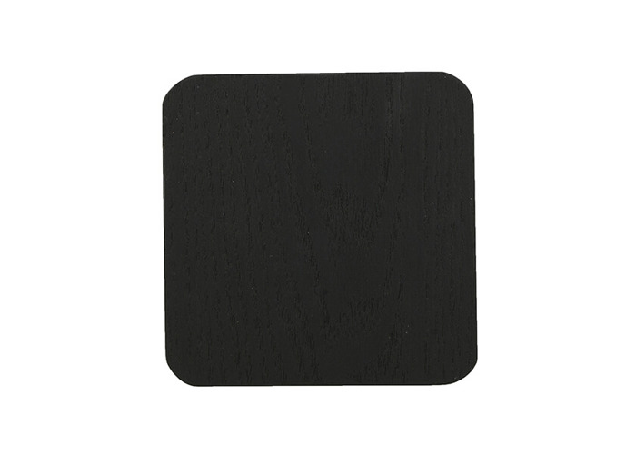 Creative Tops Naturals Pack Of 4 Wooden Coasters Black - 1