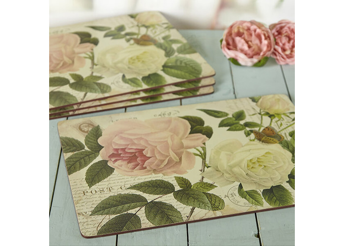 Creative Tops Rose Garden Pack Of 4 Large Premium Placemats - 2