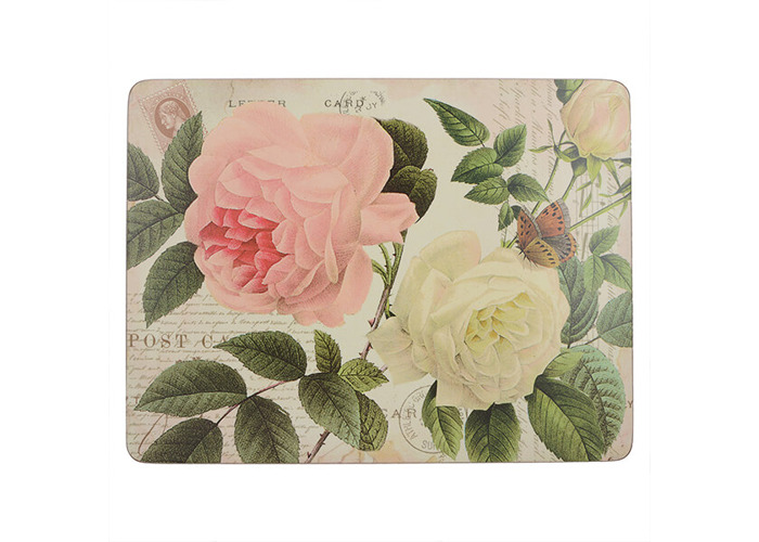 Creative Tops Rose Garden Pack Of 4 Large Premium Placemats - 1