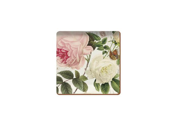 Creative Tops Rose Garden Set Of 6 Premium Coasters - 1
