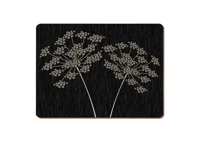 Creative Tops Silhouette Set Of 4 Large Premium Placemats - 1