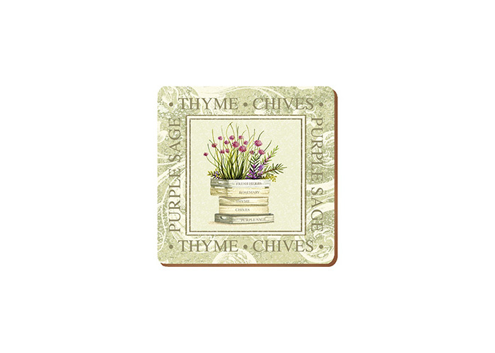 Creative Tops Topiary Coasters, Set of 6 - 1