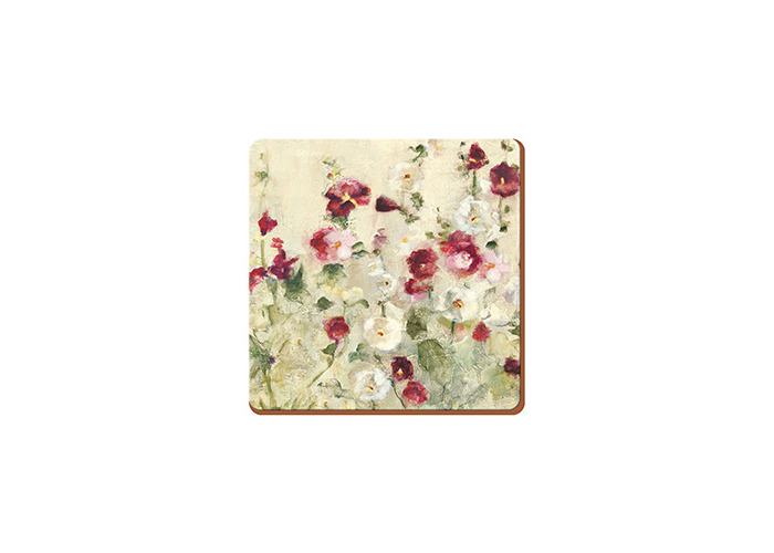 Creative Tops Wild Field Poppies Set Of 6 Premium Coasters - 1