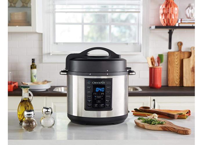 Crock-Pot CSC051 Express Pressure Cooker - Stainless Steel - 2