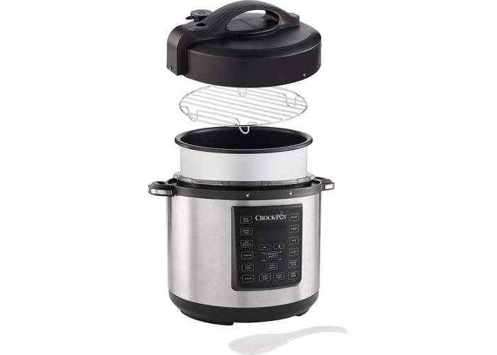 Crock-Pot CSC051 Express Pressure Cooker - Stainless Steel - 1