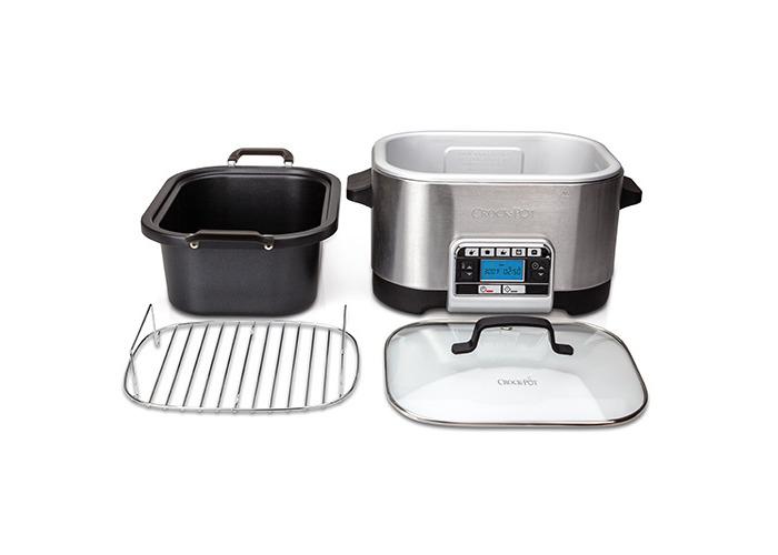 Crock-Pot Multi-Cooker, 5.6 L - Silver - 2