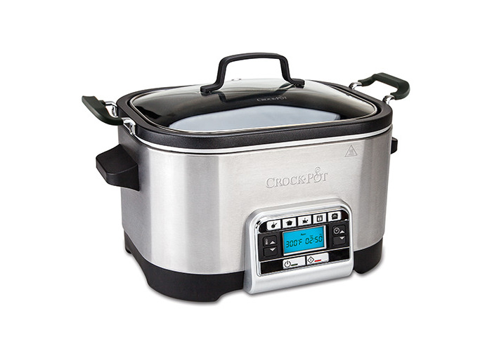 Crock-Pot Multi-Cooker, 5.6 L - Silver - 1